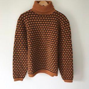 VINTAGE Oversized Grandpa Sweater Retro 70's 80's